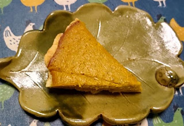 かぼちゃパイ。乳製品不使用