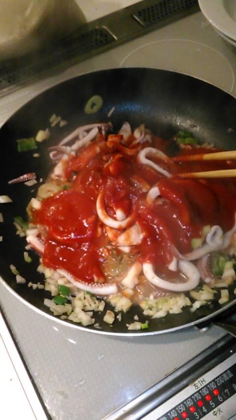 スペイン風いかのトマト煮