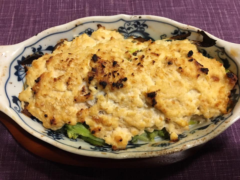 豆腐ソースグラタン