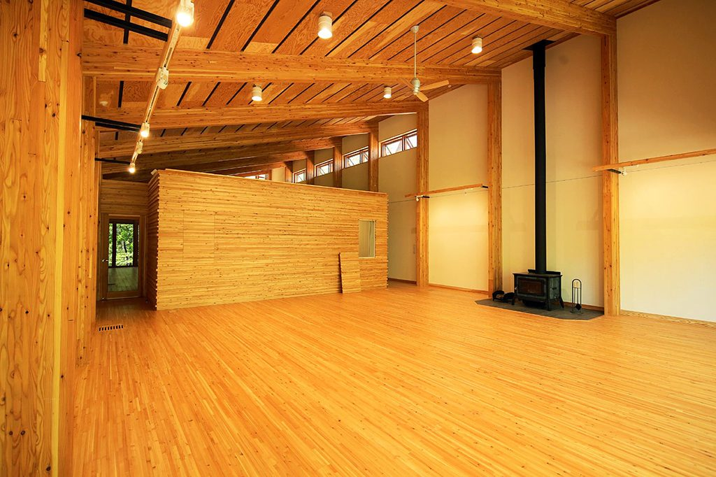 アートスタジオ棟の内部