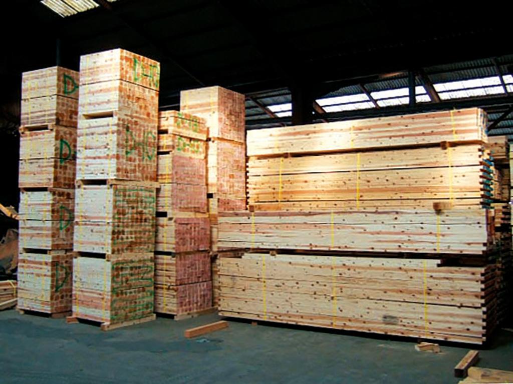 FSC認証の県産材