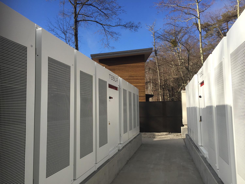 日本初、オフィスと電気自動車の電力を自然エネルギー100%で自給自足―オフグリッドシステムを導入―